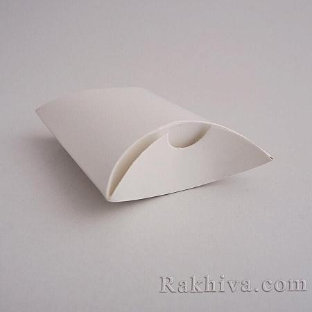 Малки кутийки за подаръчета, бяла перла 1 бр., 90x65x24 мм