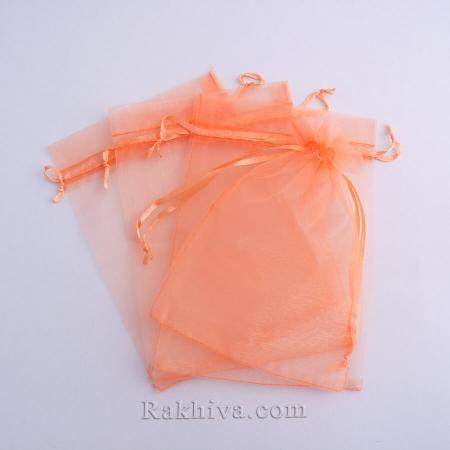 Торбички от органза праскова, 12 см / 17см, (12/17/8248)