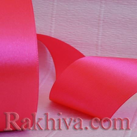 Панделка сатен бонбонено розово , 1 ролка 10 мм/ 25 ярда бонбонено розово 10/25/2343-3