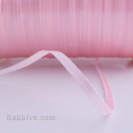 Панделка сатен - светло розово, 1 ролка 3 мм/ 20 м , 3/20/2344, без шпула