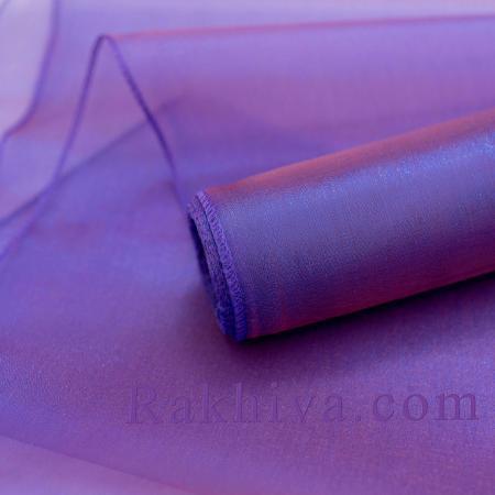Органза тъмно лилаво, 36см/ 10ярда, тъмно лилаво (36/10/3695)