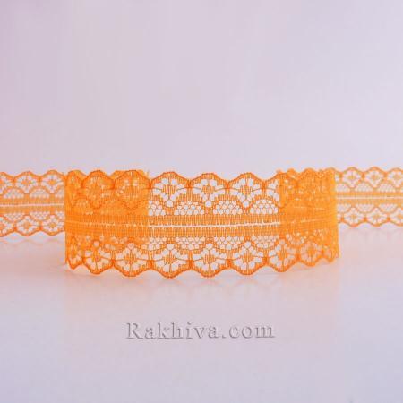 Дантела Рим пакет , 30 мм/ 9 м оранжево 30/10/1658-2/75
