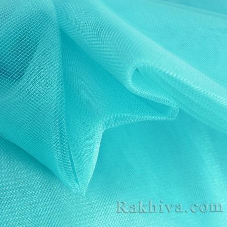 Кристален тюл - морско синьо, морско синьо за 1 линеен м (3 кв. м) 85/56