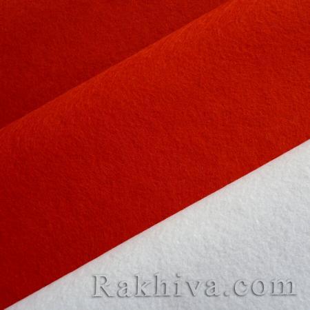 Филц за декорация и шиене, 80/100 см бяло  (80/100/660) - мек филц