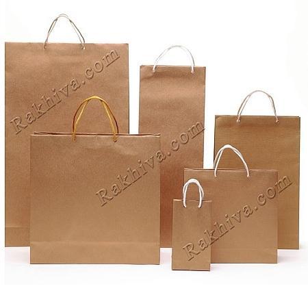 Едноцветни торбички - злато, 8см/12см/3.5см (мини) (8/12/72200)