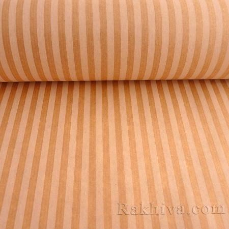 Крафт хартия за букети и опаковане Райе, 60 см/ 25 м натурал, бяло (60/25/18430-10)