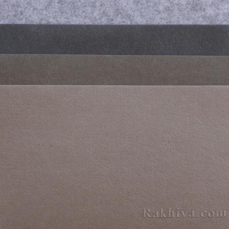 Филц за декорация и апликации, 150/ (S5) мрамор - твърд филц