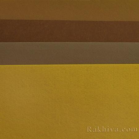 Филц за декорация и апликации, 99/ (236) злато - твърд филц