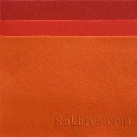 Мек филц за декорация и шиене, 8/ (603) червено - мек филц