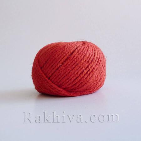 Канап , натурален шнур червено