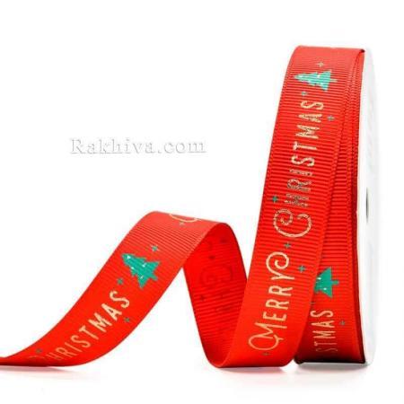 Merry Christmas, 16 мм/ 9 м червено (16/9/80)