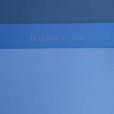 Фоам, гумена хартия Eva листи А4, синьо, листи А4, т. синьо 20/30/38