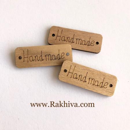 Дървени фигурки Handmade, натурални Handmade (10 бр.)