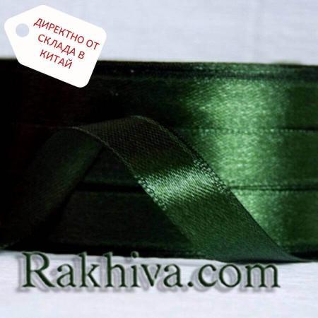 Панделка сатен тъмно зелено, 6 мм / 25 ярда (6/25/2369) > 270 броя