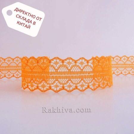 Дантела Рим ролка, оранжево ( 30/400/75)