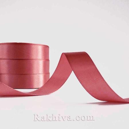 Панделка сатен - антично розово, 1 ролка 20 мм/25 ярда, (20/25/2349-1)
