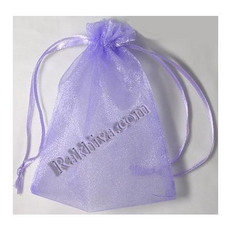 Торбички от органза лилаво, 5 см/7 см (5/7/8290-1) над 1000 броя