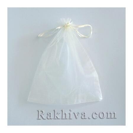 Торбички от органза шампанско, 5 см/7 см (5/7/8213-1) над 1000 броя