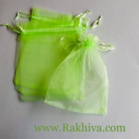 Торбички от органза светла резеда, 12 см/17 см (12/17/8263) над 500 броя
