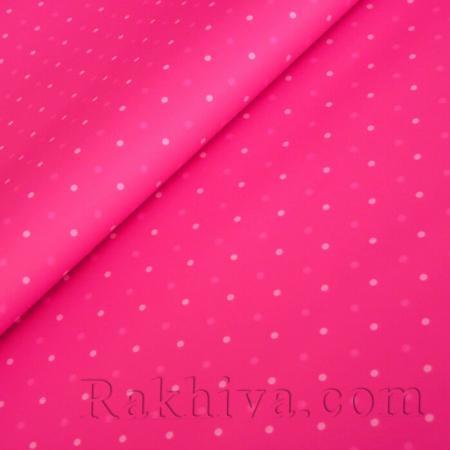 Целофан за опаковане на пакет, Точки циклама, розово (70/100/151146) над 50 листа