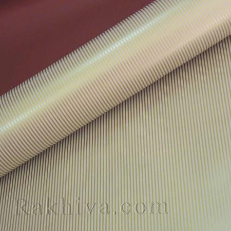 Целофан за опаковане на пакет, Стилна бордо, злато (70/100/51186-200) над 50 листа