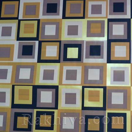 Целофан за опаковане на пакет, Шарлот злато, кафяво (70/100/2011200-34) над 50 листа
