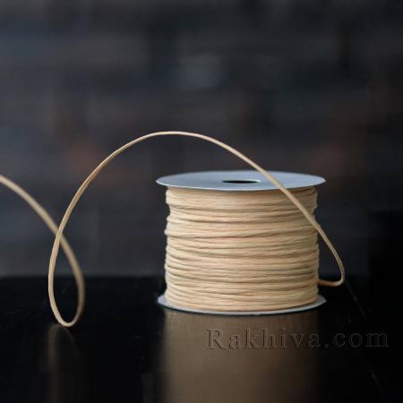 Хартиен шнур с тел на кашон, ЕДРО св. праскова (2/50/6148-1) над 24 броя