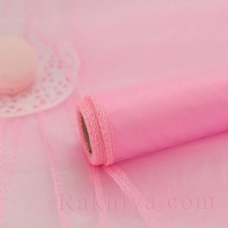 Органза на кашон, розово 49 см (49/10/3640) над 50 броя
