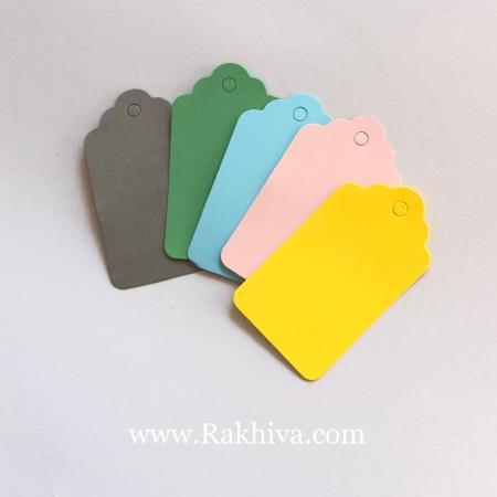 Цветни хартиени етикети