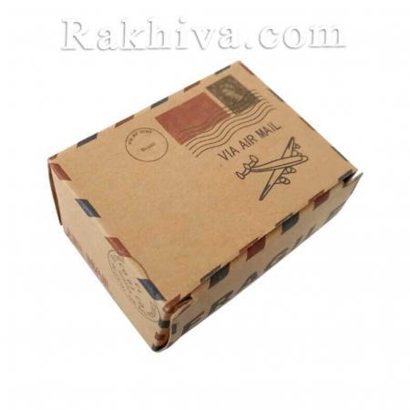 Кутийка пощенска марка, пощенска марка 1 бр, 6x4,5x3,5 см