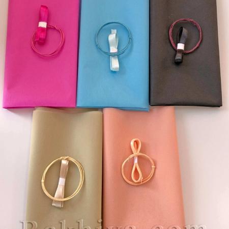 Комплект за опаковане на подарък, за букет, черно , 1 комплект