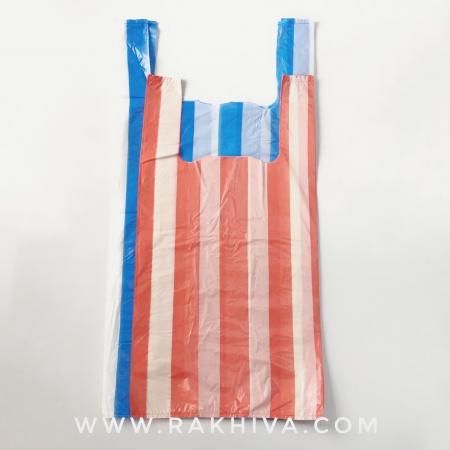 Чанта тип потник, 27 см /50 см, черно (100 бр.)