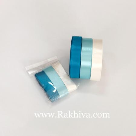 Крафт светло синьо сатен комплект, светло синьо комплект сатен