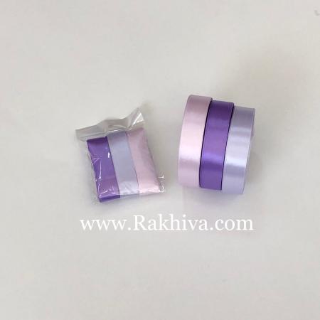 Крафт лилаво сатен комплект, лилаво комплект сатен