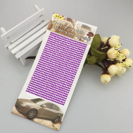 Самозалепващи кристали за декорация
