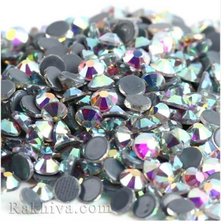Кристали за нокти Hot Fix за декорация на дрехи, за нокти, седеф, 1.6 мм/1440 бр. кристали хамелион 1.6/1440/300 SS4