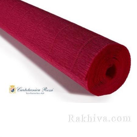 Крепирана хартия (Италия Cartotecnica rossi) 180 гр., 20/586 (червено)