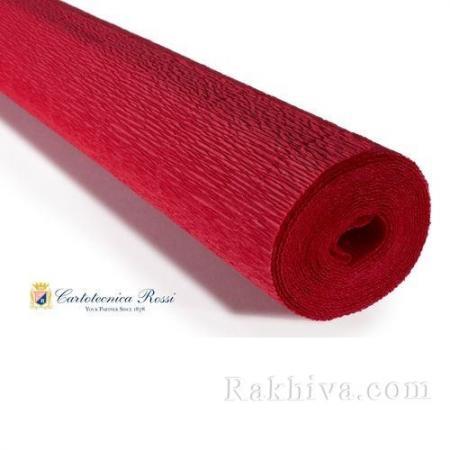 Крепирана хартия (Италия Cartotecnica rossi) 180 гр., 20/589 (св. червено)
