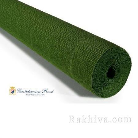 Крепирана хартия (Италия Cartotecnica rossi) 180 гр., 20/591 (зелено)