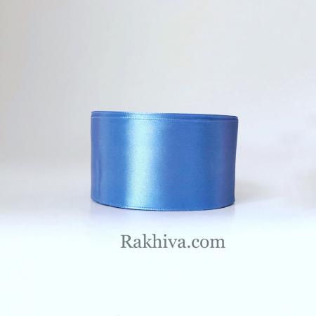 Панделка сатен - синьо деним, 1 ролка 50 мм/ 22.80 м (50/25/2356)