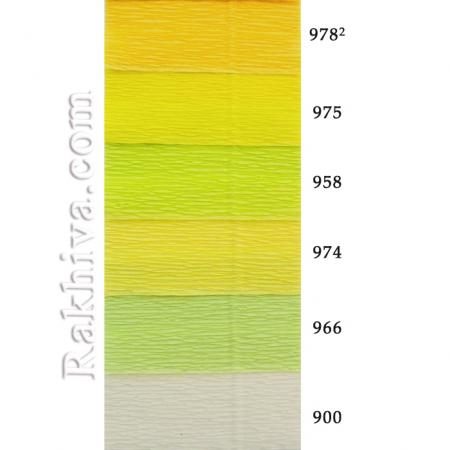 Крепирана хартия (Италия Cartotecnica rossi) НА КАШОН, 900 (бяло)