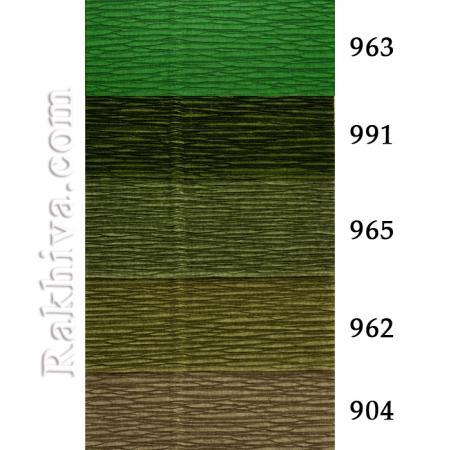 Крепирана хартия (Италия Cartotecnica rossi) НА КАШОН, 904 (графит)
