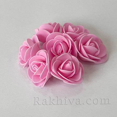 Силиконови розички на едро розово, розово (3,5 см/10 броя) над 50 пакета