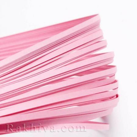 Квилинг лентички светло розово, 3мм/ 390мм (DIY-J001-3mm-B02)