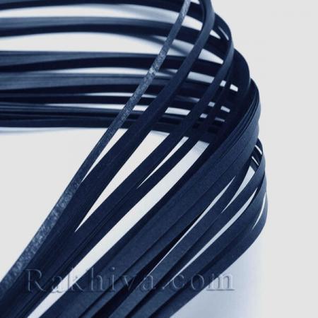 Квилинг лентички тъмно синьо, 3мм/ 390мм (DIY-J001-3mm-B09-1)