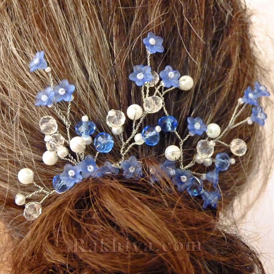 Как се прави бижу – аксесоар за коса от перли и мъниста