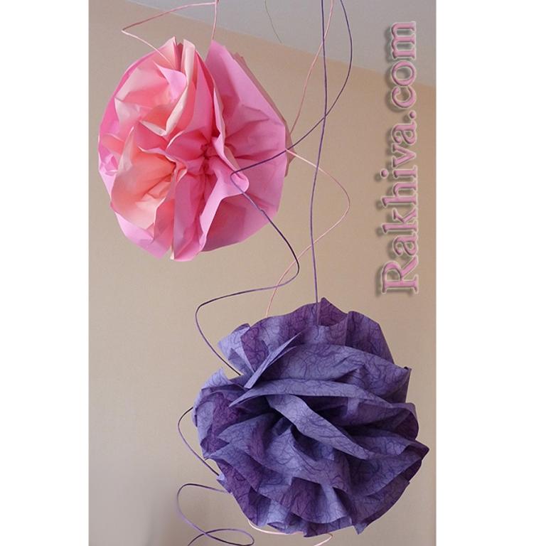 Цветя от тишу хартия