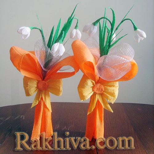 пролетни цветя от хартия