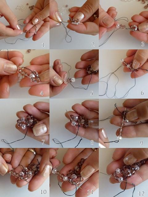 Как се прави бижу - гривна от мъниста
