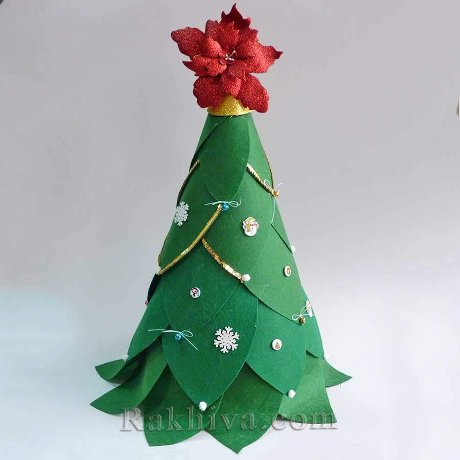 Как се прави парти декорация - коледна звезда от фоам с брокат